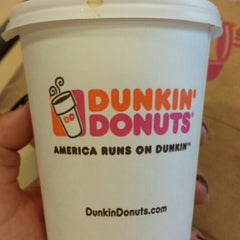 Photo taken at Dunkin' Donuts by Daniele d. on 8/27/2014