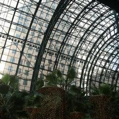Photo taken at Winter Garden Atrium by Jessica F. on 12/2/2012