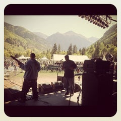 Photo taken at Telluride Blues and Brews Festival by Telluride B. on 9/16/2012