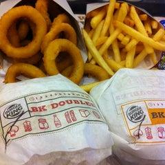 Photo taken at Burger King by Ayu S. on 1/10/2013
