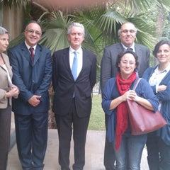 Photo taken at Ambassade de France en Tunisie by Souhail A. on 4/22/2013