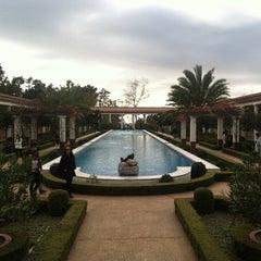 Photo taken at J. Paul Getty Villa by Anuraag C. on 12/29/2012