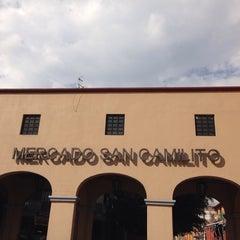 Photo taken at Mercado De Comidas San Camilito (Garibaldi) by Sandra V. on 10/12/2013
