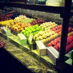 Photo taken at Ladurée by Raspberry B. on 2/16/2013