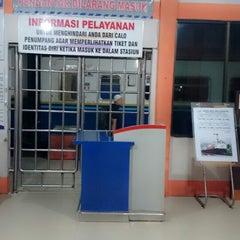 Photo taken at Stasiun Rantauprapat by Aniek S. on 10/24/2014
