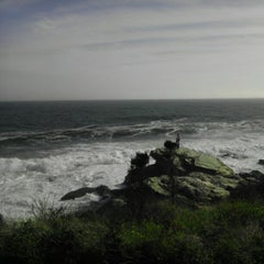 Photo taken at Beavertail State Park by Heather H. on 10/20/2012