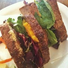 Photo taken at Peacefood Cafe by Jennifer H. on 7/26/2013