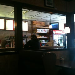 Photo taken at Captain's Pizza by Anna W. on 10/21/2012