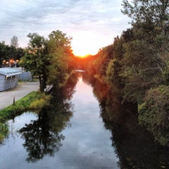 Photo taken at Royal Canal Lock 12 by Diogo H. on 10/8/2012