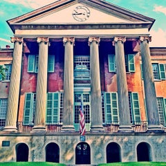 Photo taken at Harrison Randolph Hall, College of Charleston by Mark S. on 8/30/2013