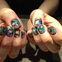 Photo taken at Sakura Nail & Spa by Mea Cole T. on 3/6/2014