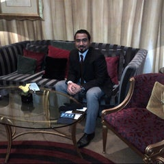 Photo taken at The Park Tower Knightsbridge by TALAL A. on 3/11/2013
