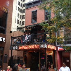 Photo taken at Wingharts Burger And Whiskey Bar by Eric T. on 10/5/2013