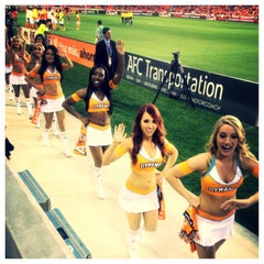 Photo taken at BBVA Compass Stadium by ArtJonak on 3/31/2013
