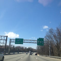 Photo taken at I-287 by Alejandra F. on 4/14/2013