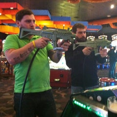 Photo taken at Dave & Buster's by Amanda C. on 2/14/2013