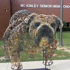 Photo taken at McKinley Senior High School by Michael H. on 8/15/2013