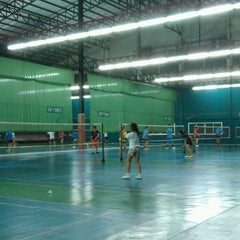 Photo taken at CC Badminton Court by KraTay B. on 11/29/2013