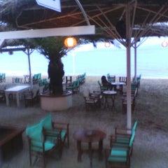 Photo taken at Παραλία Ζούμπερι by Peggy K. on 3/18/2013