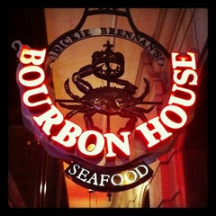Photo taken at Bourbon House by Tim W. on 10/19/2012