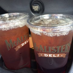 Photo taken at McAlister's by Tony D. on 6/18/2015