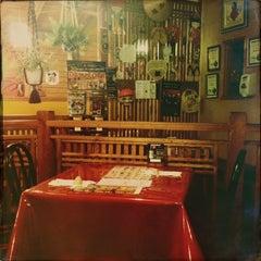 Photo taken at Furusato Japanese Restaurant by Flor P. on 10/9/2013
