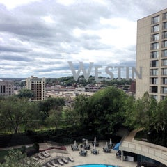 Photo taken at The Westin Kansas City at Crown Center by Kathleen J. on 10/7/2013