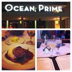 Photo taken at Ocean Prime by Tam D. on 3/31/2013