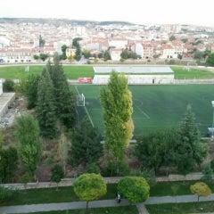 Photo taken at Abdurrahman Temel Futbol Sahası by Hilmi D. on 9/25/2015