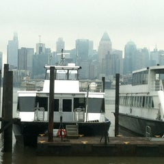 Photo taken at NY Waterway Ferry Terminal Port Imperial by Pete at MainLineMediaNews on 1/12/2013