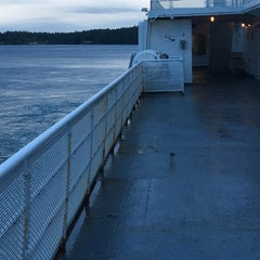 Photo taken at Sturdies Bay Ferry Terminal by Jon S. on 1/28/2016