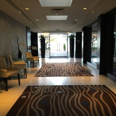 Photo taken at Granville Island Hotel by Jon S. on 10/30/2015
