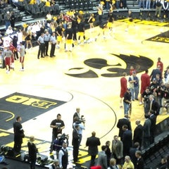 Photo taken at Carver-Hawkeye Arena by mark h. on 12/8/2012