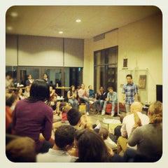 Photo taken at GSB MBA Lounge by Greg B. on 11/1/2012