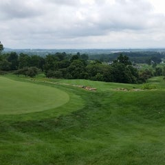 Photo taken at Stoneleigh Golf  & Country Club by Susan B. on 7/22/2014