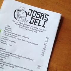 Photo taken at Josh's Delicatessen & Appetizing by Dee N. on 3/16/2013