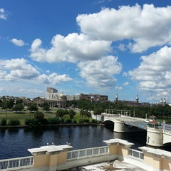 Photo taken at Sheraton Tampa Riverwalk Hotel by Daniel M. on 10/5/2013