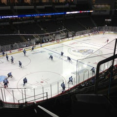 Photo taken at Huntington Center by David R. on 2/1/2013