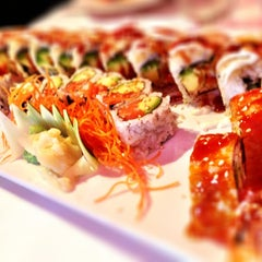 Photo taken at Butterfly Sushi by Silvana F. on 7/24/2013