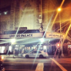 Photo taken at United Palace Theatre by Sam G. on 10/20/2012