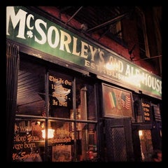 Photo taken at McSorley's Old Ale House by Trent V. on 4/27/2013