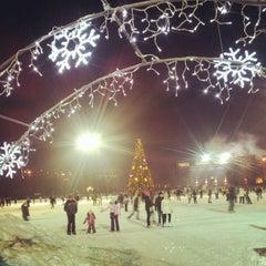"""Photo taken at Каток """"Южный полюс-Лужники"""" by Alena S. on 1/19/2013"""