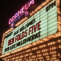 Photo taken at Orpheum Theatre by Jamie Lynne G. on 9/30/2012