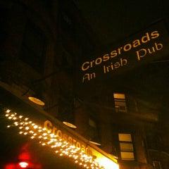Photo taken at Crossroads Irish Pub by Caro R. on 4/10/2013