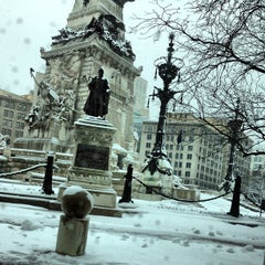 Photo taken at Soldiers & Sailors Monument by Richard F. on 3/25/2013