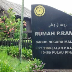Photo taken at P. Ramlee's House by Rosfazilah B. on 4/30/2013
