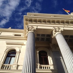 Photo taken at Bolsa de Madrid by Diógenes C. on 5/28/2013