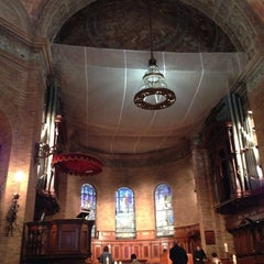 Photo taken at St. Paul's Chapel - Columbia University by Melissa S. on 4/19/2014