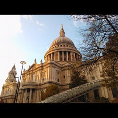Photo taken at St Paul's Churchyard by Odinden on 11/10/2012