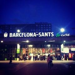 Photo taken at Sants Estació by Joakim V. on 9/12/2013